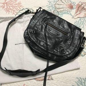 Balenciaga Neo Folk Messenger Bag